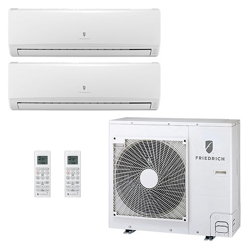 Friedrich Dual Zone Ductless Air Conditioners
