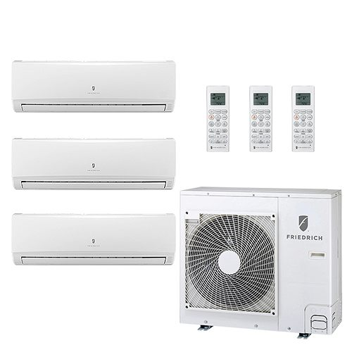 Friedrich Tri Zone Ductless Air Conditioners