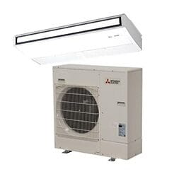 Mitsubishi Single Zone Ceiling Recessed Ductless Mini Splits
