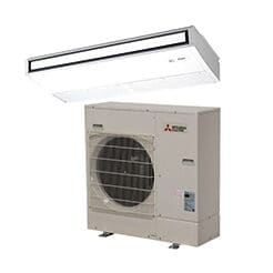 Mitsubishi Single Zone Ceiling Suspended Ductless Mini Splits