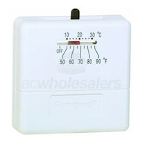 Honeywell T812 Square Thermostat 1H/1C w/ Off-H-C Switch 24 Vac