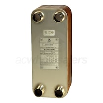 AIC Double Wall Flat Plate to Plate Heat Exchanger 7.6'' L x 3.1'' W